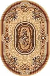 Monika Beige oval - фото 8003